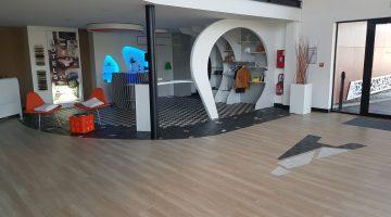 Espace showroom terminé